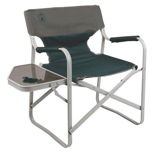 Elite Deck Chair w/ Table, Green