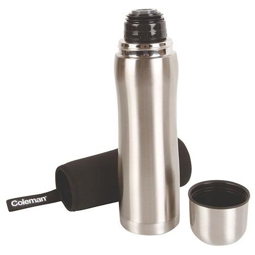 1L Stainless Steel Vacuum Bottle w/ Neoprene Sleeve