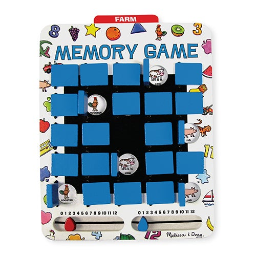 Travel Flip-to-Win Memory Game, Ages 5-7 Years