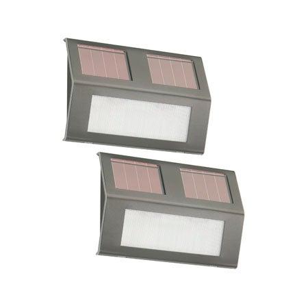 Solar Step Lights - 2 Pack