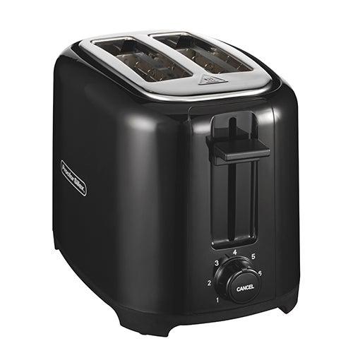 2-Slice Wide Slot Toaster, Black