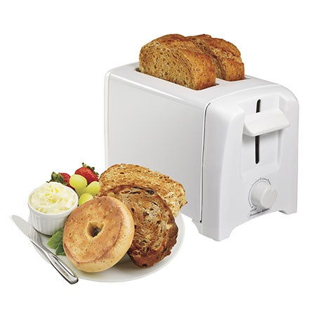 2-Slice Toaster, White