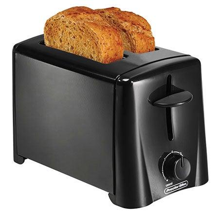 2 Slice Toaster, Black