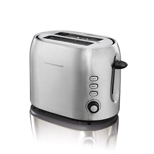 2-Slice Smudgeproof Metal Toaster