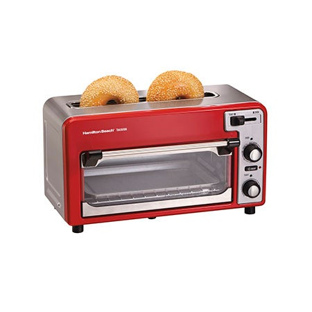 Toastation Toaster & Oven, Red