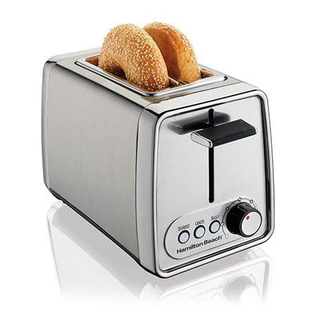Modern Chrome 2 Slice Toaster