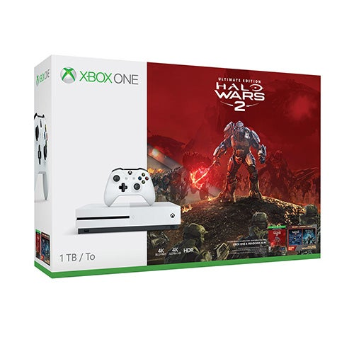 Xbox One S Halo Wars 2 Bundle, 1TB