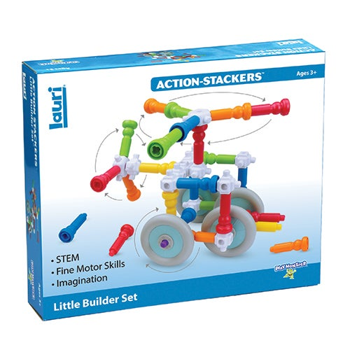 Action-Stackers Little Builder Set, Ages 3+ Years