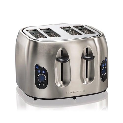 4-Slice Digital Toaster