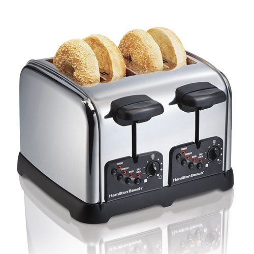 Classic Chrome 4 Slice Toaster