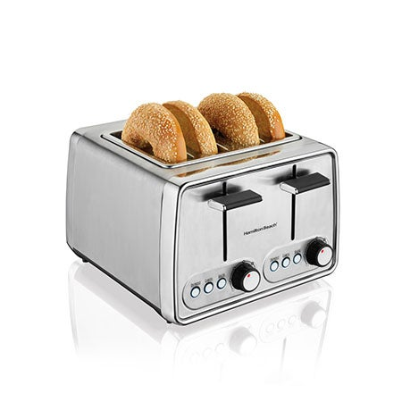 Modern Chrome 4-Slice Toaster