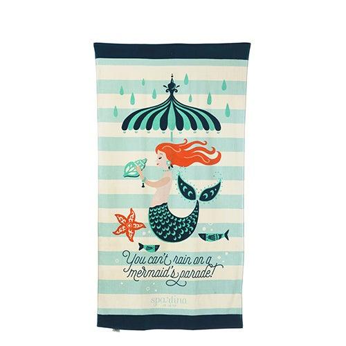 Mermaid Parade Beach Towel