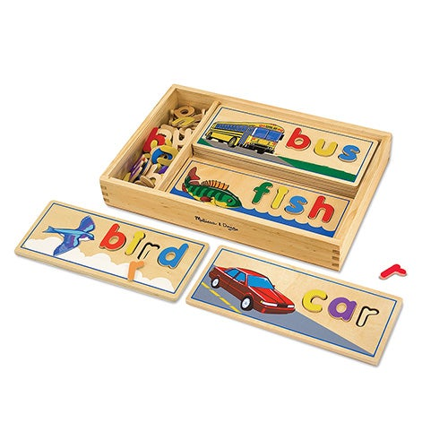 See & Spell Learning Toy, Ages 4-6 Years