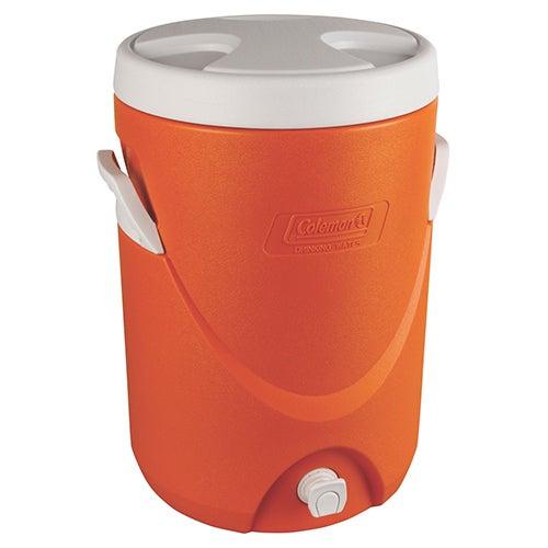 5 Gallon Beverage Cooler, Orange