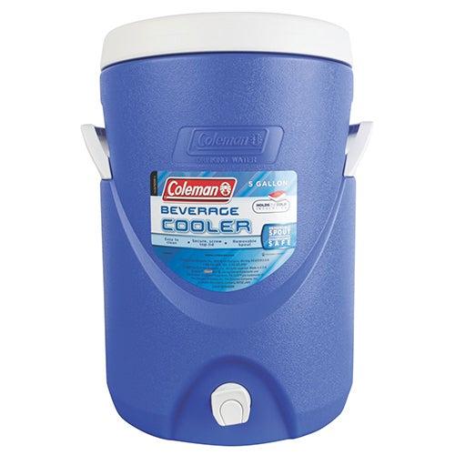 5-Gallon Beverage Cooler, Blue