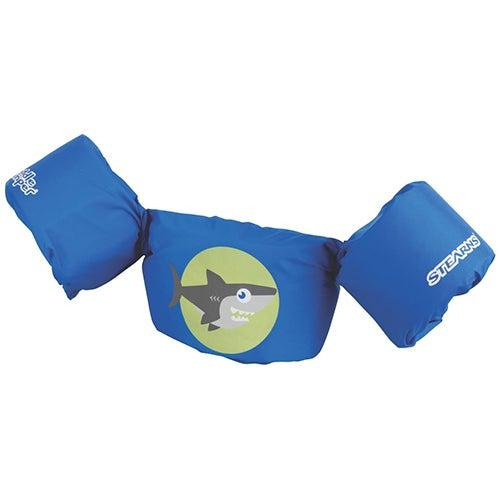 Puddle Jumper Cancun Series Life Jacket, Shark/Blue