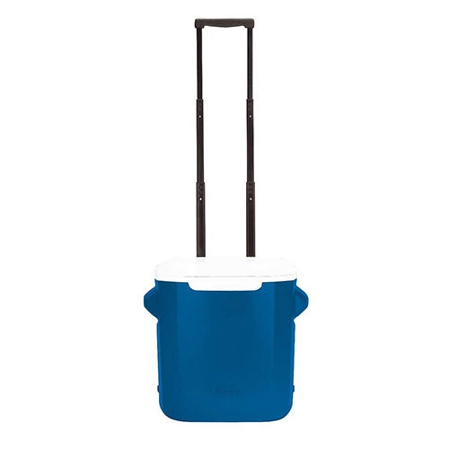 16 Qt Performance Wheeled Cooler, Blue