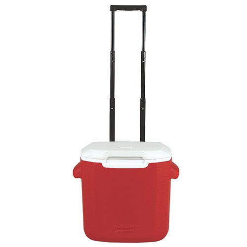 16 Qt Performance Wheeled Cooler, Red