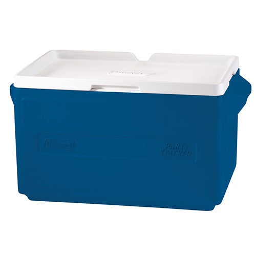 48 Can Party Stacker Cooler, Blue
