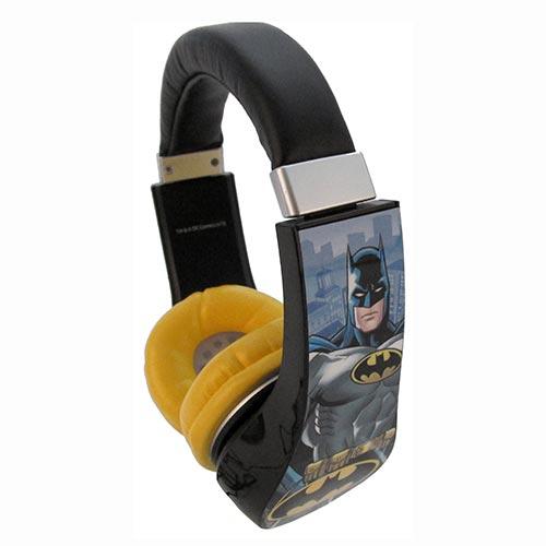 Batman Kid Friendly Volume Limiting Headphones, Ages 3-9 Years