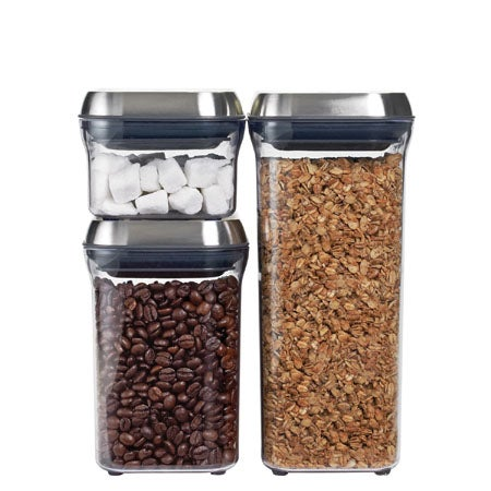 3 Pc. Steel POP Container Set