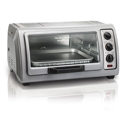 Easy Reach Toaster Oven w/ Roll Top Door