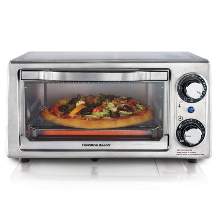 Stainless Steel 4 Slice Toaster Oven