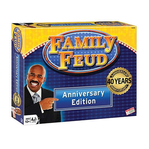 Family Feud 40th Anniversary Edition Board Game, Ages 10+ Years