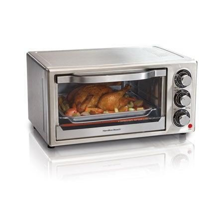Stainless Steel 6 Slice Toaster Oven
