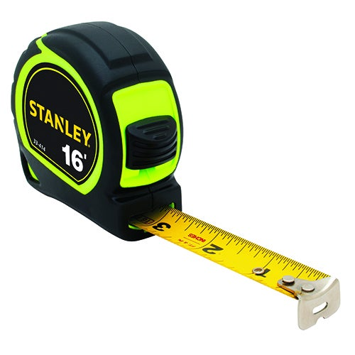 16ft High-Visibility Tape Measure