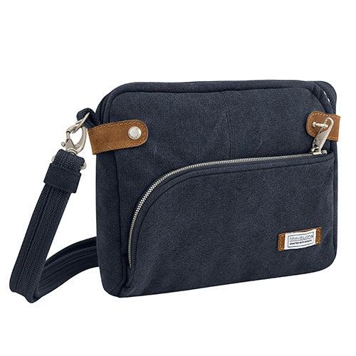 Anti-Theft Heritage Crossbody Bag, Indigo