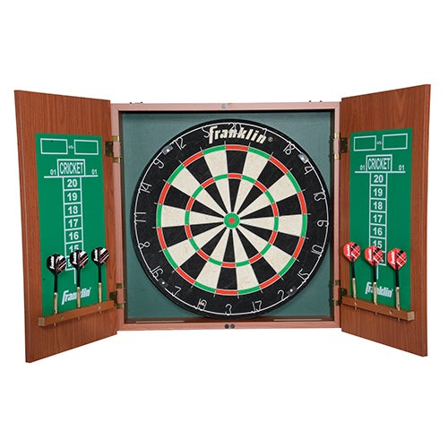 Bristle Dartboard with Cabinet
