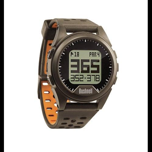 Neo iON Golf GPS Watch, Charcoal/Orange