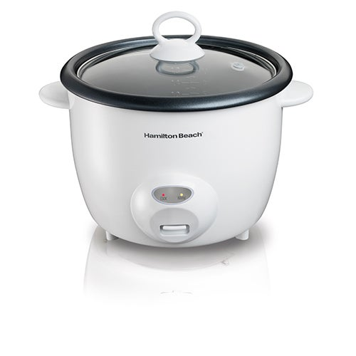 20-Cup Rice Cooker & Food Steamer, White