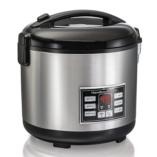 20 Cup Digital Rice Cooker & Hot Cereal Cooker