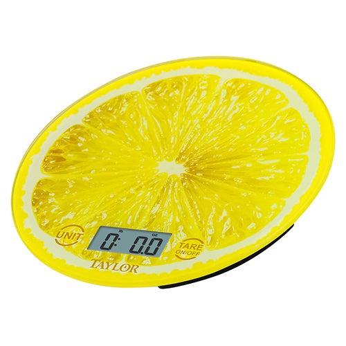 Lemon Glass Kitchen Scale