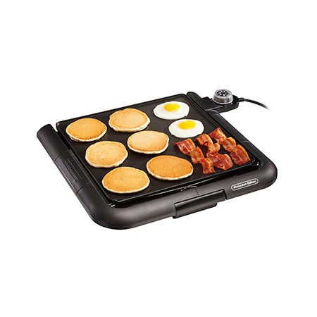 Family Size Square Electric Griddle