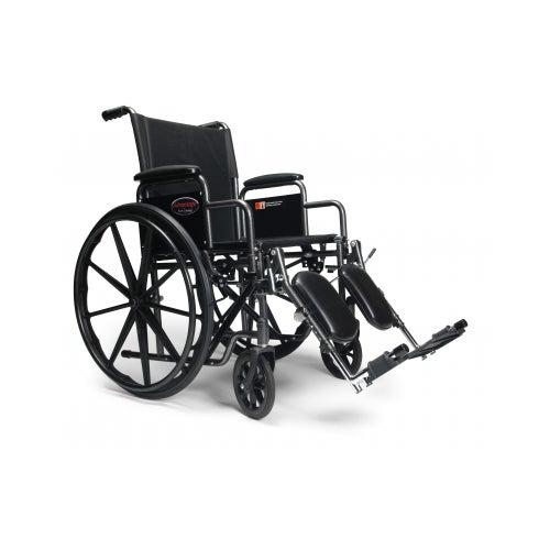 "Advantage Wheelchair w/ Detachable Desk Arm & 18"" x 16"" Seat, 250lb Capacity"