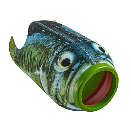 Chuck Mouth Aerodynamic Flying Fish, Ages 5+ Years