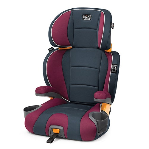 KidFit 2-In-1 Belt Positioning Booster Car Seat, Amethyst