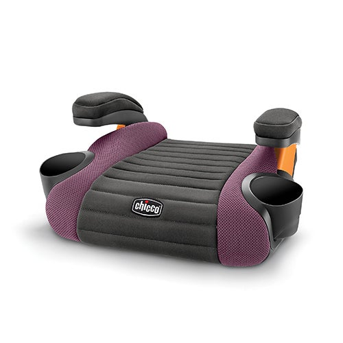 GoFit Backless Booster Car Seat, Grape