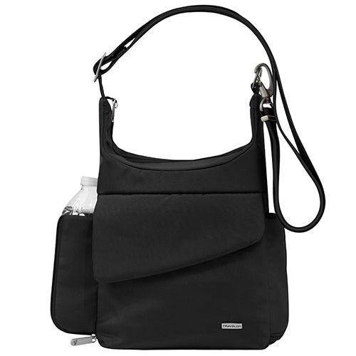 Anti-Theft Classic Messenger Bag, Black