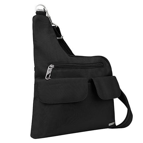 Anti-Theft Classic Crossbody Bag, Black