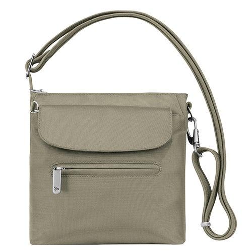 Anti-Theft Classic Mini Shoulder Bag, Stone