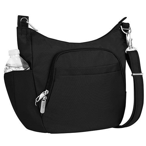 Anti-Theft Classic Crossbody Bucket Bag, Black