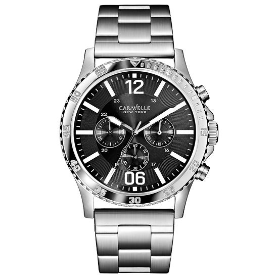 Mens Gray Dial Bracelet Watch