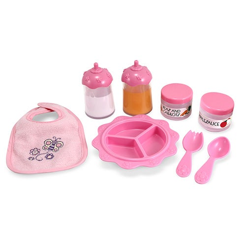 Mine to Love - Time to Eat Feeding Set, Ages 3-6 Years