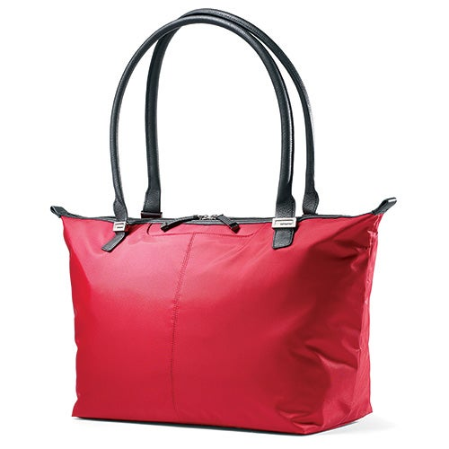 Jordyn Laptop Tote Bag, Ruby Red