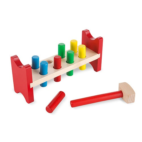 Pound-a-Peg Classic Toy, Ages 2-4 Years