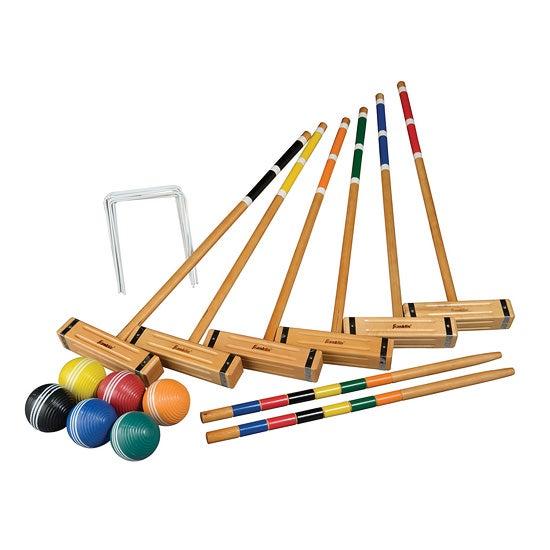 Classic 6-Player Croquet Set